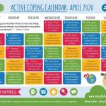 Active Coping Calendar April 2020